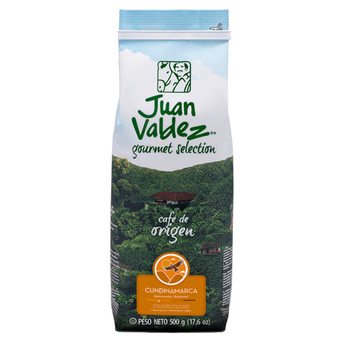 Juan Valdez® Single Origin Cundinamarca Whole Bean Coffee, 500g Pack