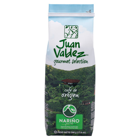 Juan Valdez® Single Origin Nariño Whole Bean Coffee, 500g Pack
