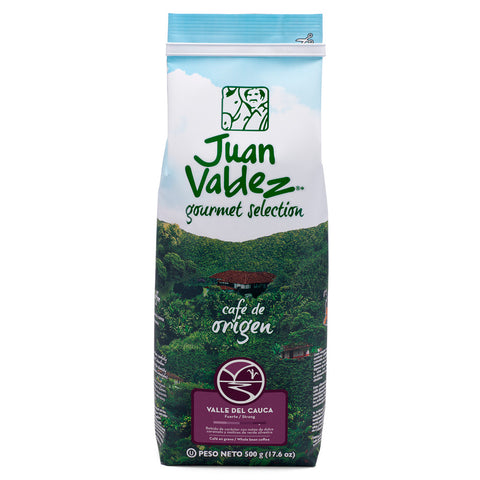 Juan Valdez® Single Origin Valle del Cauca Whole Bean Coffee, 500g Pack