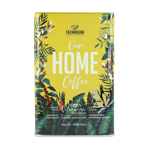 TazaMagna Our Home Ground Coffee, 340g Pack