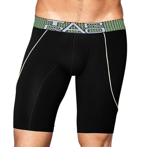 Tarrao Boxer Xtra Long Gotra Cotton Men's Underwear, Black