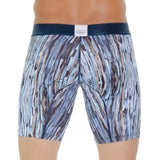 Tarrao Boxer Long Drake Microfibre Men's Underwear, Blue
