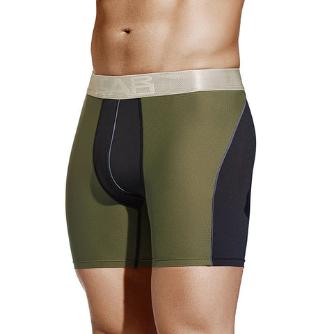 Tarrao Boxer Long Marquesi Microfibre Men's Underwear, Green