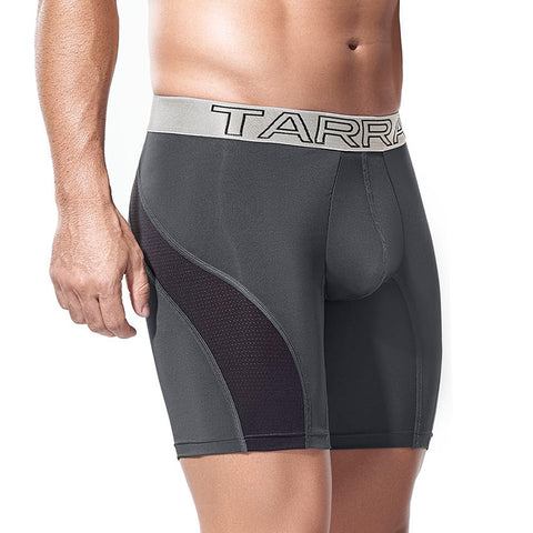 Tarrao Boxer Long Otto Microfibre Men's Underwear, Grey