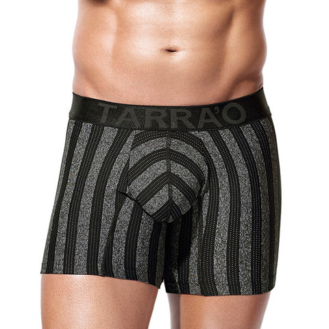 Tarrao Boxer Long Energy Microfibre Men's Underwear, Black