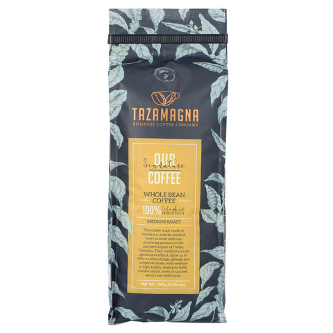 TazaMagna Our Signature Whole Bean Coffee, 500g Pack