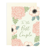 To The Best Couple A6 Greetings Card
