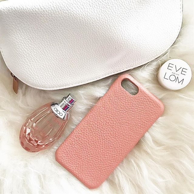 Coral Litchi Leather iPhone 8