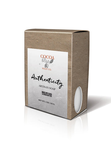 Authenticity CocoaShea Bar Soap