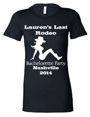 T-Shirt - Last Rodeo - Wedding Favors Plus - 1