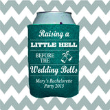 Wedding Can Insulators - Raising Hell Before the Wedding Bells - Qty. 50 - Wedding Favors Plus - 1