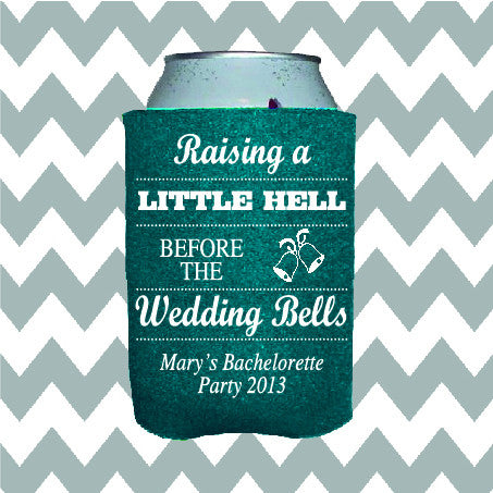 Wedding Can Insulators - Raising Hell Before the Wedding Bells - Qty. 100 - Wedding Favors Plus - 1