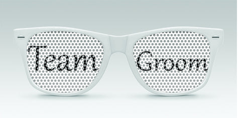 13ef0596217 10 - Wedding Favors · Personalized Wedding Sunglasses - Team Bride and Team  Groom - Qty.