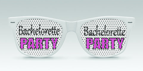 Personalized Bachelorette Sunglasses - Bachelorette Party - Qty.  25 - Wedding Favors Plus - 1