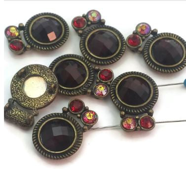 Slider beads for jewelry making