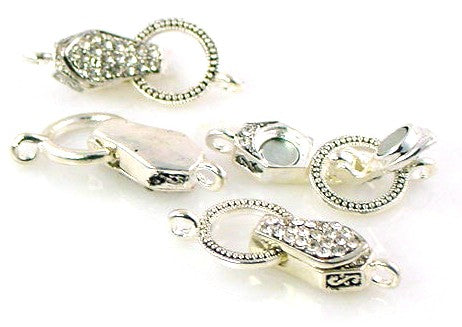 Silver_Magnetic_Clasps_Jewelry_Designing