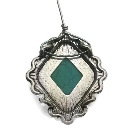 Wire-wrapped-pendant