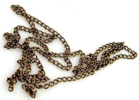 "1 27"" antique brass chain 10328-H4"