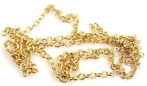 "1 29"" gold chain 10589-H12"
