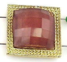 1 large square slider bead 9057-h15