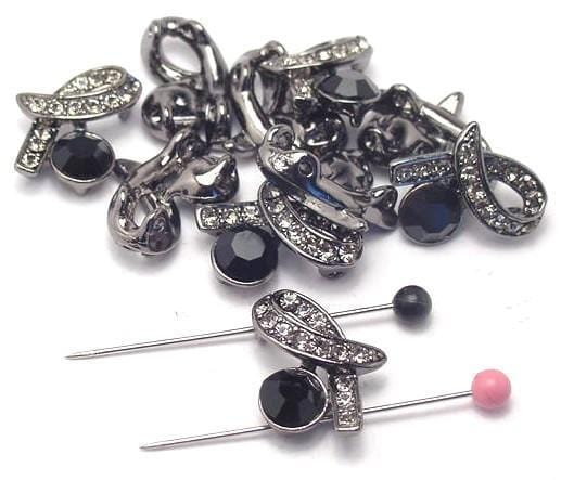 10 beads rhinestone slider beads 3081-Q1