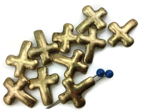 10-Cross-Antique-Gold-2-Hole-Slider-Beads-11280-h7