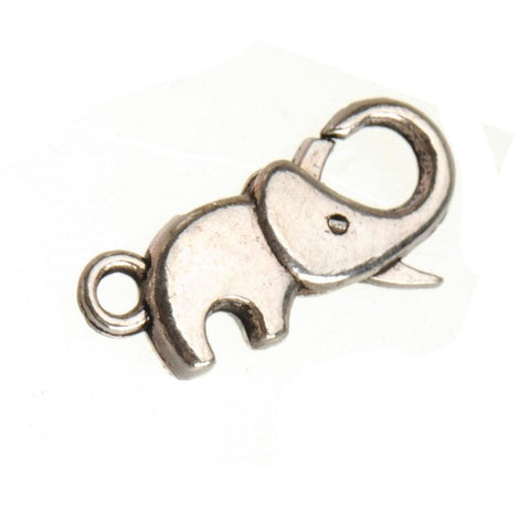 20_pc_of_Silver_Elephant_Lobster_Clasps,_Only_the_Clasp,_No_Ring,_23*9*4mm_20pcs