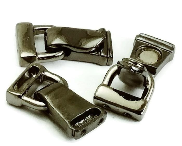 Fold Over Magnetic Clasps 2 Hole Clasp 8642-