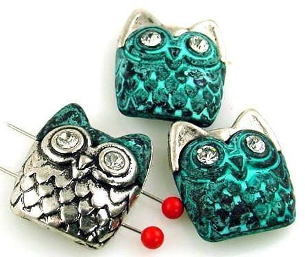 3_owl_patina_silver_2_hole_slider_beads_10607-N2