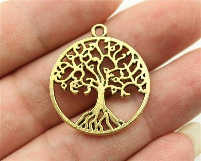 4pcs  Tree Charms - mobile-boutique.com