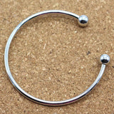 5 pcs of Cuff Bangles Great for European or Large Hole Beads