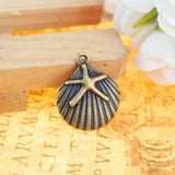 60_Charm_Pendants_Shells_and_starfish