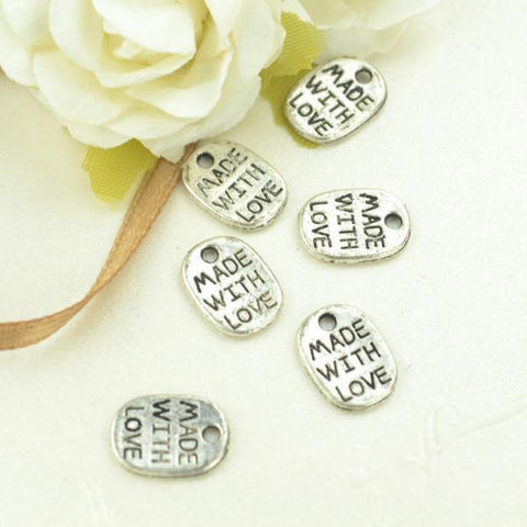 75 pcs Made with Love Tags Great for Handmade things