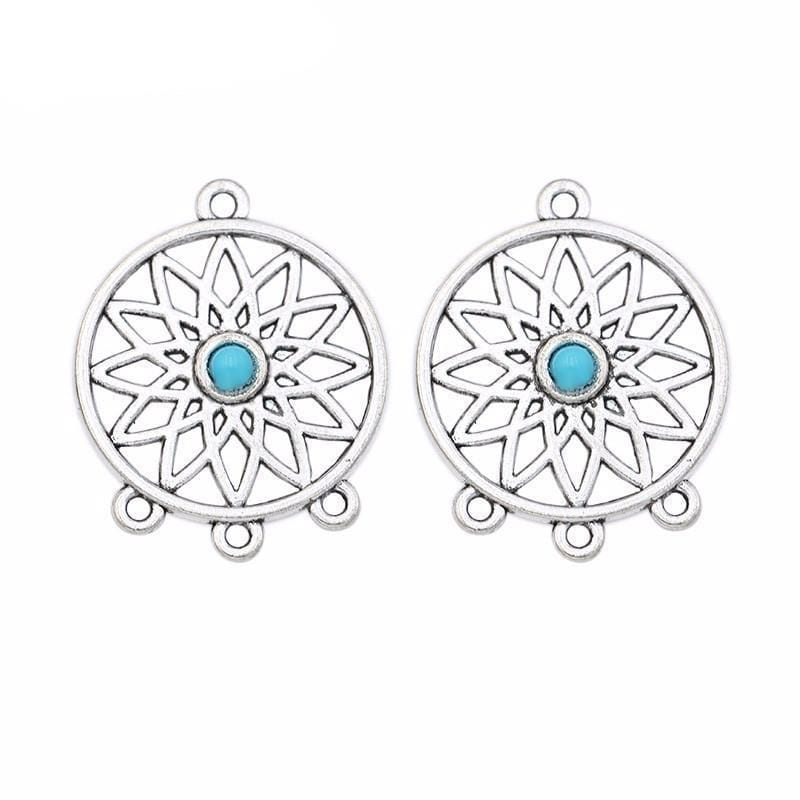 8_pcs_1_to_3_Connector_Dreamcatcher_Beads__Earring_Components_33x26mm