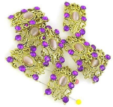 8_purple_fiber_optic_bright_gold_2_hole_slider_beads_9519-K1