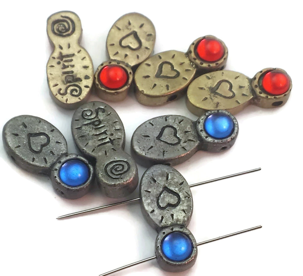 8 Unique Inspirational Slider Beads D328-f8