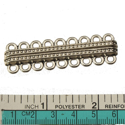 9 holes Strong  Magnetic Bar Clasp 57*16*7mm 3pcs