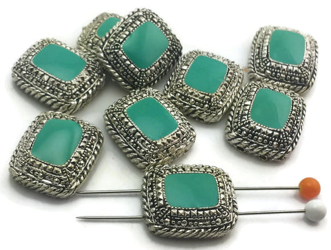 9_Turquoise_marcasite_style_2_hole_beads_8573-F10