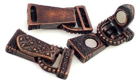 Foldover_Clasps_Closure_Magnetic_Marcasite_Look_Antique_Copper_8645-