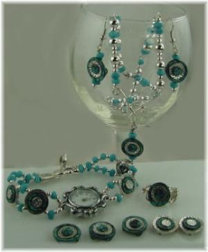 blue group slider bead projects-idea