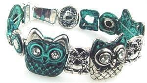 Blue_Owl_Slider_Bead_Bracelet-idea