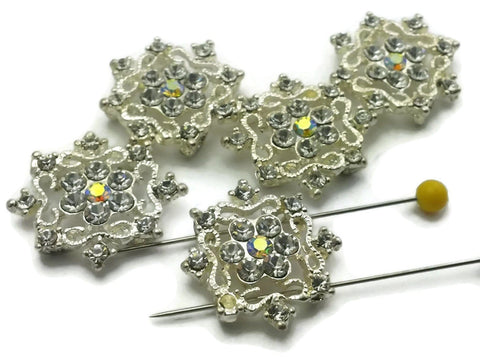 Bright_Silver_with_Clear_Rhinestones_in_a_Snowflake_like_Design_M222-H7