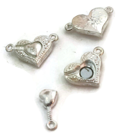 Single_Strand_Silver_Double_Heart_Magnetic_Clasp_3909-cl4