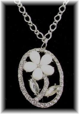 Floral drop pendant-idea