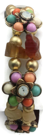 Muli-colored_rhinestone_double_strand_bracelet
