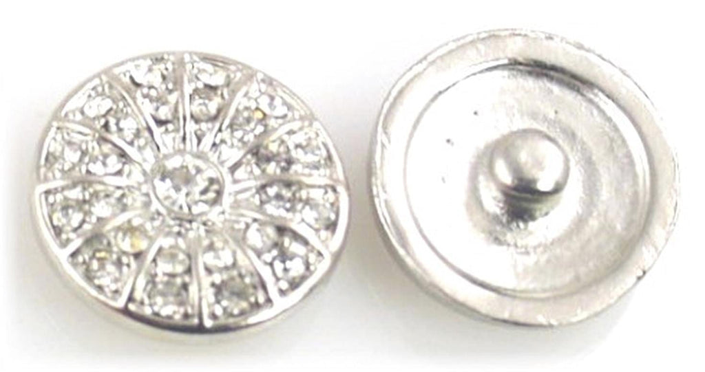Platinum silver textured and full of clear cz 10876-H3