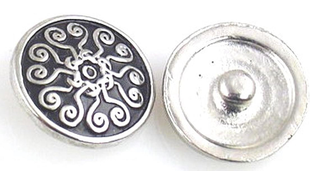Platinum silver with a celtic like look 10879-A1
