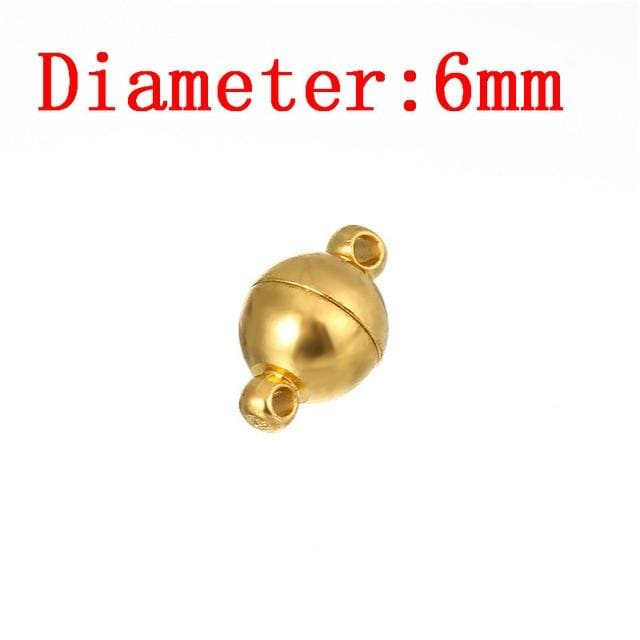 10pcs Round Strong Magnetic Clasps