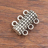 10sets/lot 3 strand magnetic clasp
