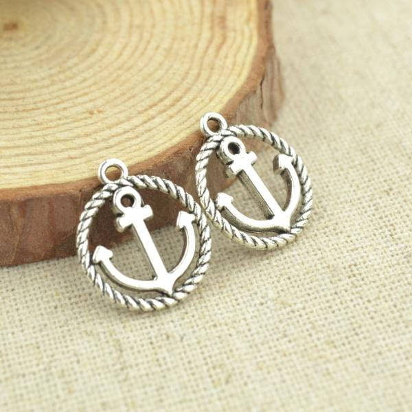 25pcs anchor charms - mobile-boutique.com